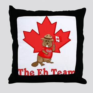 The Eh Team Throw Pillow