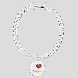 I Love Oklahoma (Vintage) Charm Bracelet, One Char
