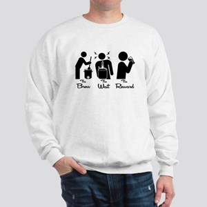 The Steps of Homebrewing Sweatshirt