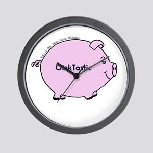 OinkTastic Wall Clock
