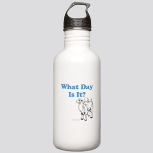 What Day Is It Water Bottle