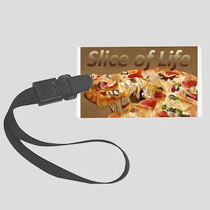 Slice of Life Luggage Tag
