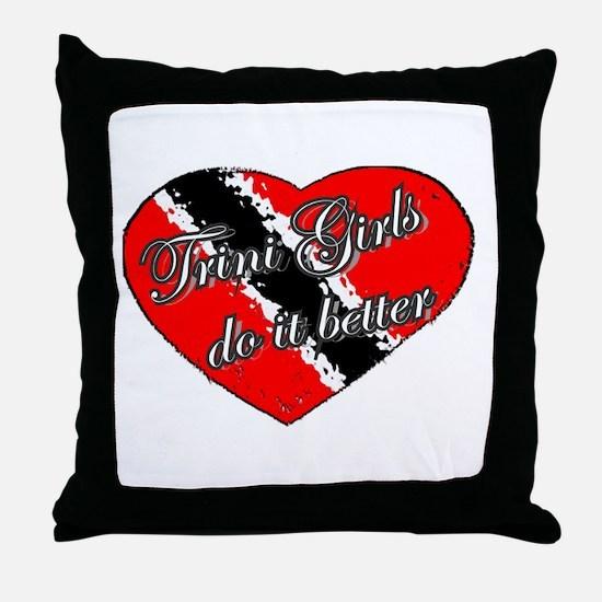 TRINI GIRLS Throw Pillow