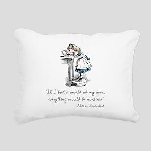 Nonsense Rectangular Canvas Pillow