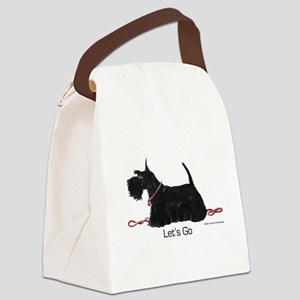 Scottie Let's Go! Canvas Lunch Bag