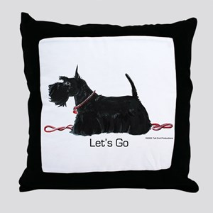 Scottie Let's Go! Throw Pillow