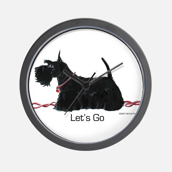 Scottie Let's Go! Wall Clock