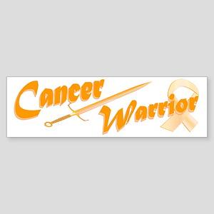 Amber Appendix Cancer Warrior Bumper Sticker