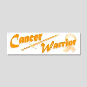 Amber Appendix Cancer Warrior Car Magnet 10 x 3