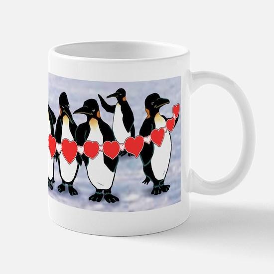 Penguins Heartstring Mug