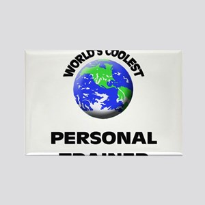 World's Coolest Personal Trainer Rectangle Magnet