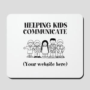 Helping Kids Communicate Mousepad