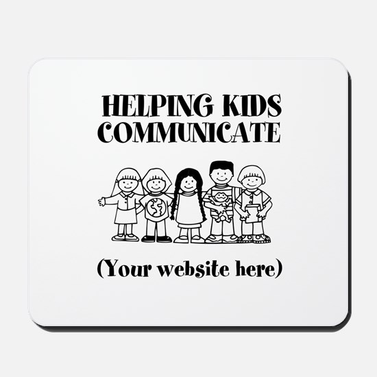 Helping Kids Communicate Mousepad