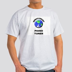 World's Coolest Piano Tuner T-Shirt