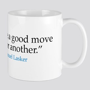 Mug - Chess master E. Lasker quote