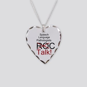 SLPs Talk! Necklace Heart Charm