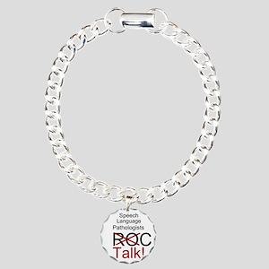 SLPs Talk! Charm Bracelet, One Charm