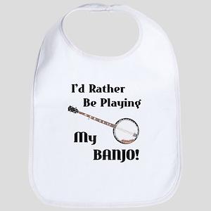 Playing My Banjo Bib