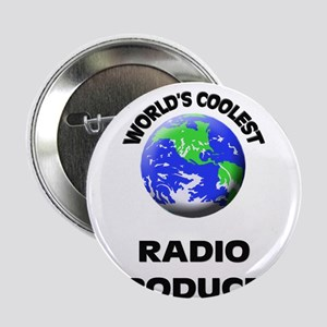 """World's Coolest Radio Producer 2.25"""" Button"""