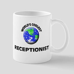 World's Coolest Receptionist Mug