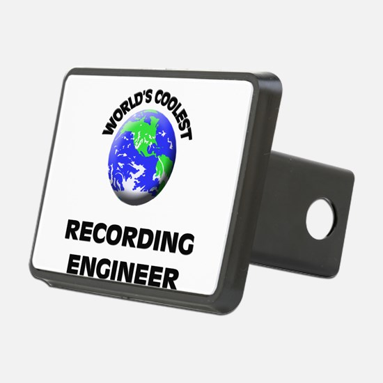 World's Coolest Recording Engineer Hitch Cover