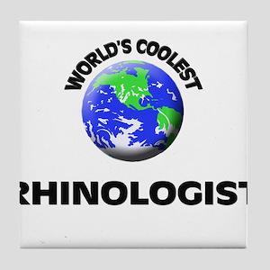 World's Coolest Rhinologist Tile Coaster