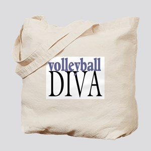 Volleyball Diva Tote Bag