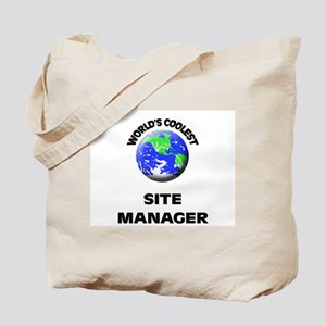 World's Coolest Site Manager Tote Bag