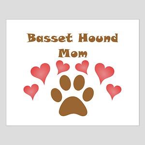Basset Hound Mom Poster Design