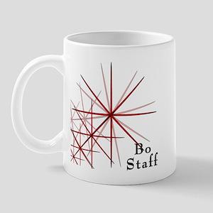 Martial Arts Bo Staff Mug