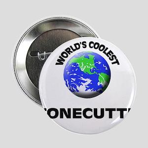 "World's Coolest Stonecutter 2.25"" Button"