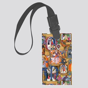 Medieval Illuminations Luggage Tag