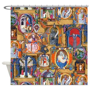 Medieval Shower Curtains