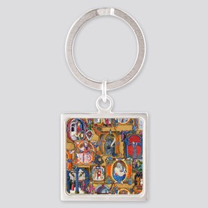 Medieval Illuminations Keychains