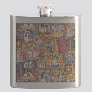 Medieval Illuminations Flask