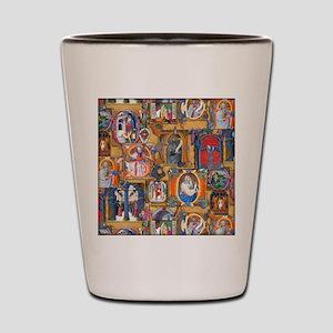 Medieval Illuminations Shot Glass