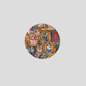 Medieval Illuminations Mini Button