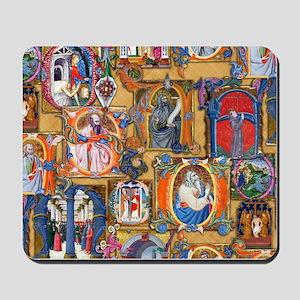 Medieval Illuminations Mousepad