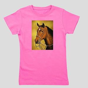 Western Horse Girl's Tee