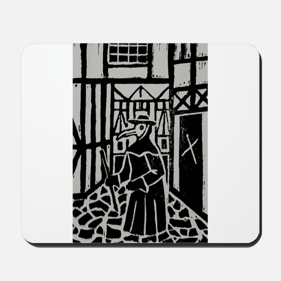 The Plague Doctor Mousepad