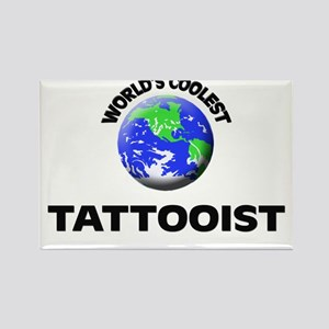 World's Coolest Tattooist Rectangle Magnet