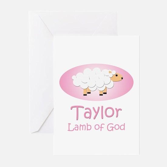 Lamb of God - Taylor Greeting Cards (Pk of 10)