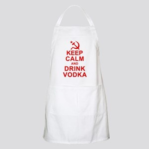 Keep Calm and Drink Vodka Apron