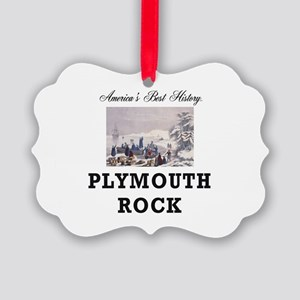 ABH Plymouth Rock Picture Ornament