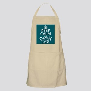 Keep Calm Call Your Agent Apron