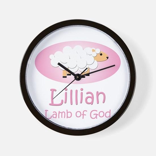 Lamb of God - Lillian Wall Clock