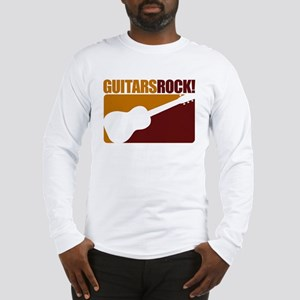 Guitars Rock! Long Sleeve T-Shirt