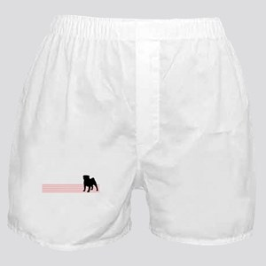 Retro Pug Boxer Shorts