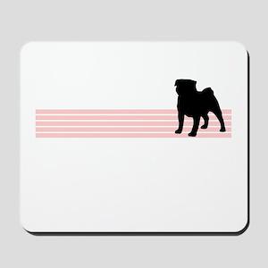 Retro Pug Mousepad