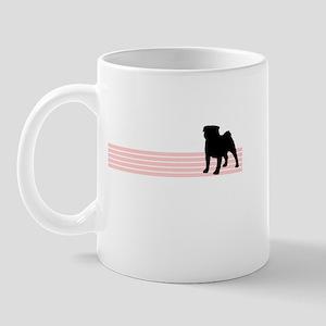 Retro Pug Mug